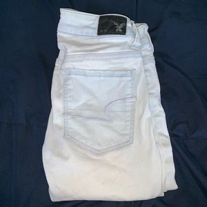 AE distressed jegging